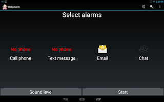 Screenshot of Baby Monitor / Baby Alarm