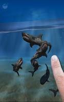 Screenshot of Shark Fingers 3D Aquarium FREE