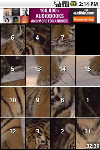 Animals iSlider slide puzzle