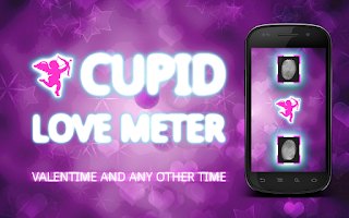 Screenshot of Cupid Love Meter