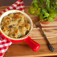 Baked Pasta With Sausage, Mushrooms and Mascarpone