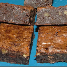 Banana-Brownies, Low Cal