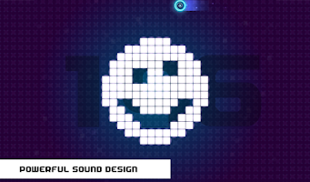 Screenshot of Neon Beat
