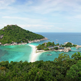 Koh Nang Yuan by Savio Sanches - Landscapes Beaches