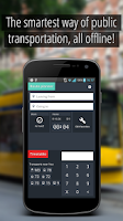 Screenshot of SmartCity Budapest Transport
