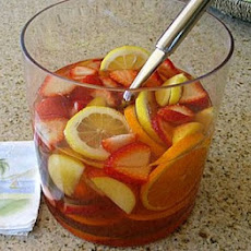 Strawberry- Peach Sangria