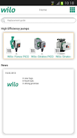 Screenshot of Wilo assistant