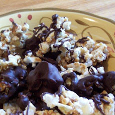Chocolate Covered Popcorn (Boy Scouts Copycat) Caramel Corn