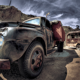 Chevy by Dave Zuhr - Transportation Automobiles ( truck, d_zuhr, chevy, dzuhr, decay, abandoned,  )