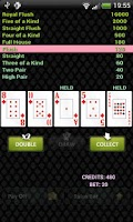 Screenshot of Petri's Video Poker