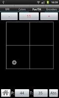Screenshot of aRFR remote control