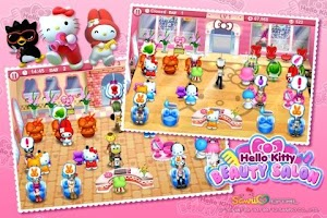 Screenshot of Hello Kitty Beauty Salon Intl