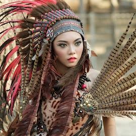 Indian Girl by Bayu Ediputro - People Fashion