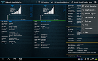 Screenshot of Network Signal Info Pro