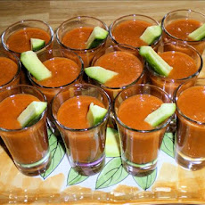 Mini Chilled Gazpacho, Tapas