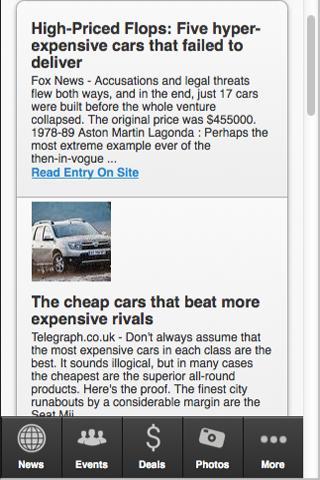 【免費娛樂App】The Most Expensive Car-APP點子