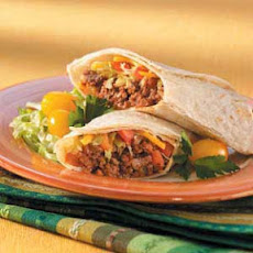 Taco Salad Wraps Recipe