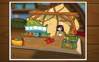 Screenshot of Grimm's Snow White