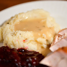 Apple Cider Turkey Gravy