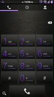 Screenshot of Leather Purple CM11/AOKP Theme