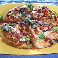 Pan-Roasted Chicken With Spiced Honey
