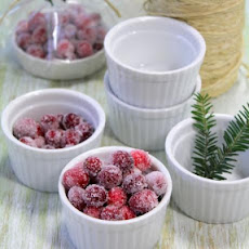 Vanilla-Orange Sugared Cranberries