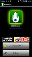 Screenshot of easyMute