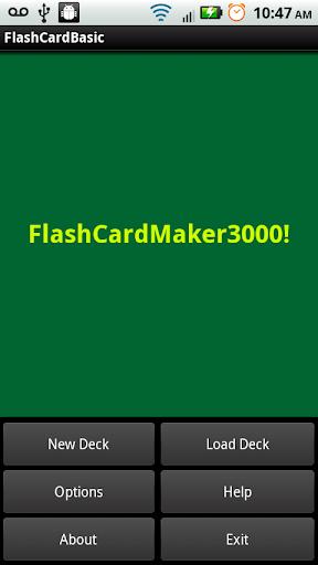 FlashCardMaker3000 Free Trial