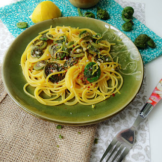 Fiddlehead Fern Pasta Recipes