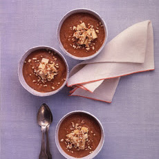 Banana-Apple Puddings with Toasted Almonds