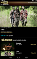 Screenshot of AMC Mobile for tablet