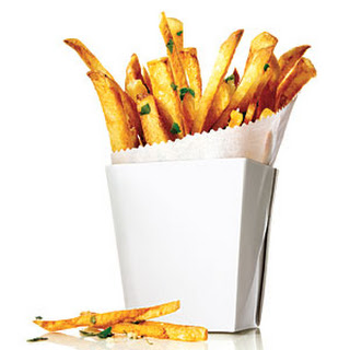 Garlic and Herb Oven Fries