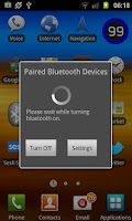 Screenshot of Smart Bluetooth Widget Pro