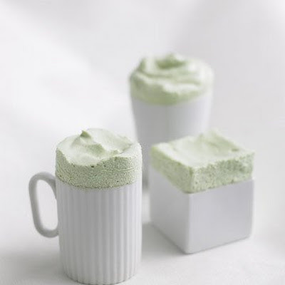 Frozen Green Tea Souffles