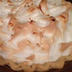 Mom's Chocolate Meringue Pie