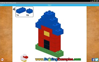 Screenshot of Buildings with building bricks