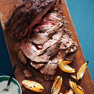Oven-Smoked Chuck-Eye with Horseradish Cream