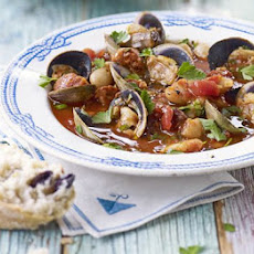 Clam, Chorizo & White Bean Stew