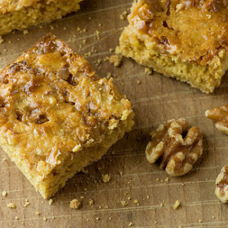 Caramel Walnut Dream Bars