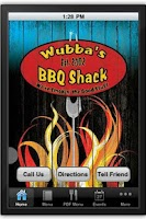 Screenshot of Wubba's BBQ