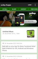 Screenshot of yuilop Support by lieblich