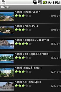 Croatian Tourist Guide - screenshot