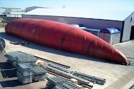 Floating storage tank Full