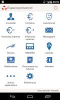 Screenshot of Crédit Mutuel