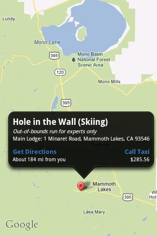 【免費旅遊App】Mammoth In the Know-APP點子