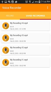 Voice and Sound Recorder - screenshot