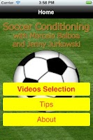 Screenshot of Soccer Skills Lite version