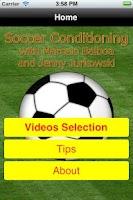 Screenshot of Soccer Skills Lite version