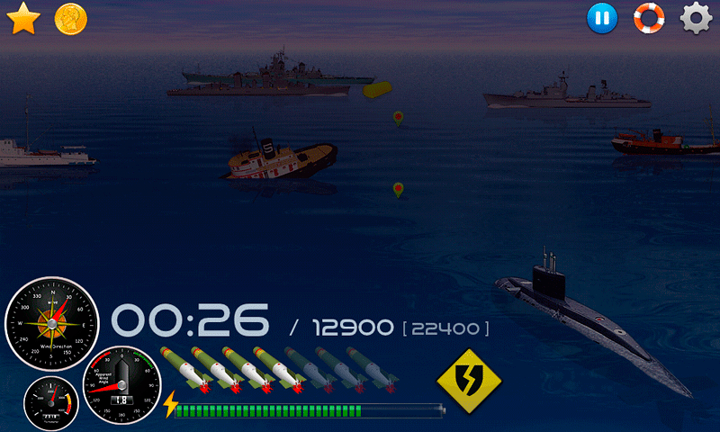Silent Submarine Career Screenshot 9