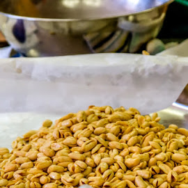 Deep Fried Peanuts by William Case - Food & Drink Cooking & Baking ( frying, cook, nutrition, nutritious, fresh, eating, nut, nuts, eat, cooking, fry, cooked )